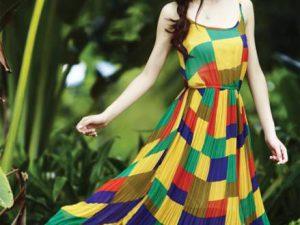 Váy maxi lãng mạn cho ngày hè