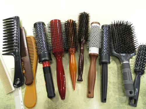 Chọn lược cho tóc