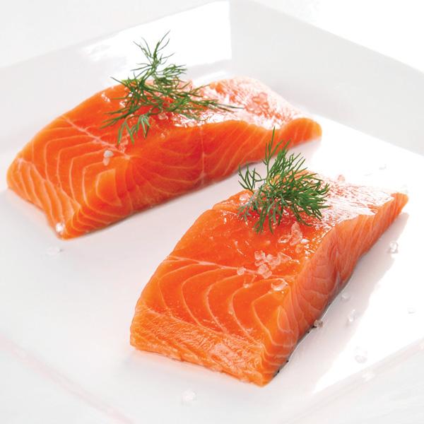 Thêm vào khẩu phần ăn món cá hồi