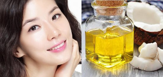 Sử dụng dầu dừa bôi lên da