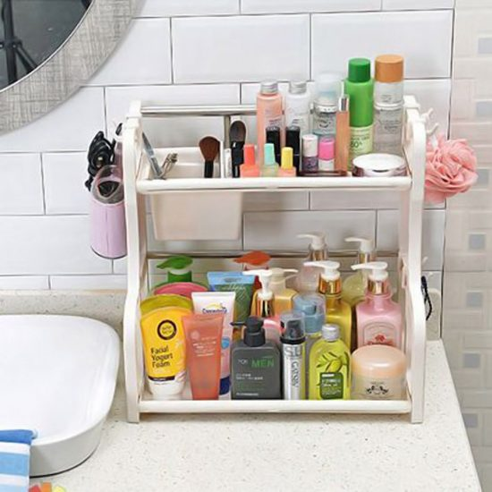 Không nên bảo quản mỹ phẩm trong phòng tắm