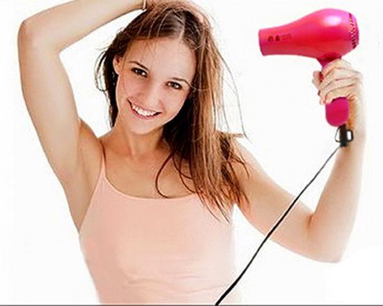 Hạn chế sấy tóc