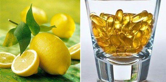 Vitamin E và nước cốt chanh