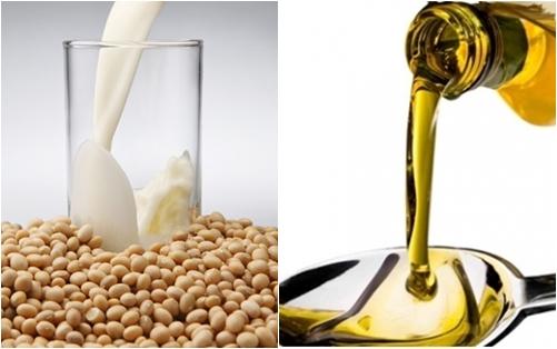 Sữa đậu nành và dầu ô liu