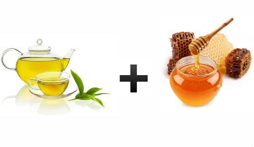 Uống trà xanh mật ong giảm cân