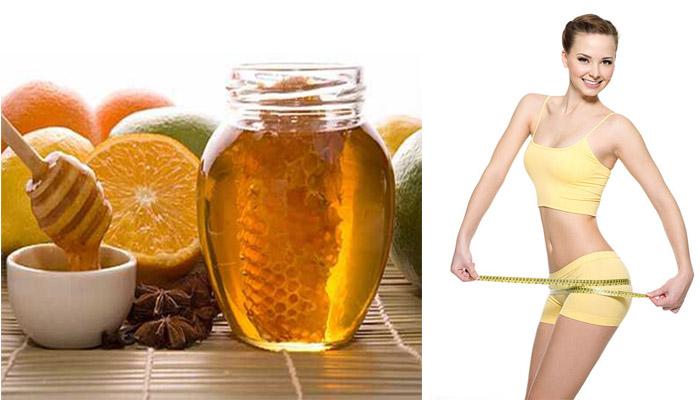 Nước uống từ mật ong giúp bạn giảm cân