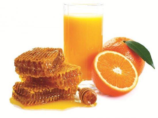 Uống cam mật ong giảm cân