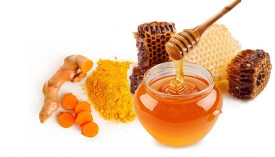 Uống bột nghệ mật ong giảm cân