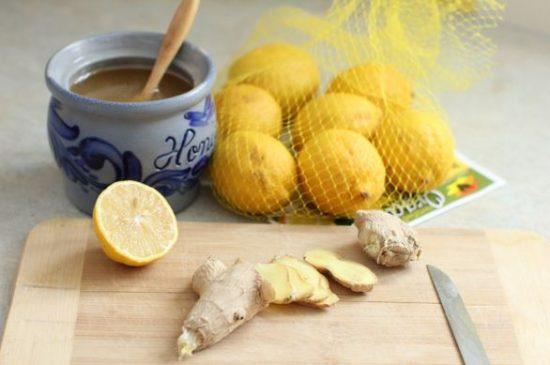 Chanh gừng và mật ong giúp giảm mỡ bụng