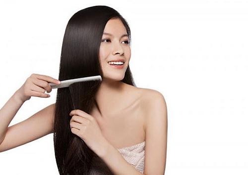 Giúp tóc đen mượt hơn với lá thông