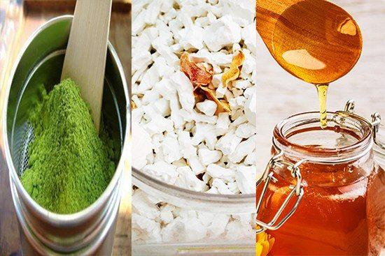 Trị mụn nhờ bột sắn, bột đậu xanh và mật ong
