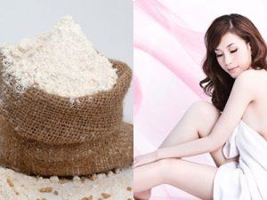 Tắm trắng từ bột sắn dây và cám gạo