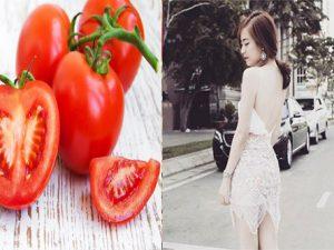 Tắm trắng da từ cà chua bạn đã biết chưa?