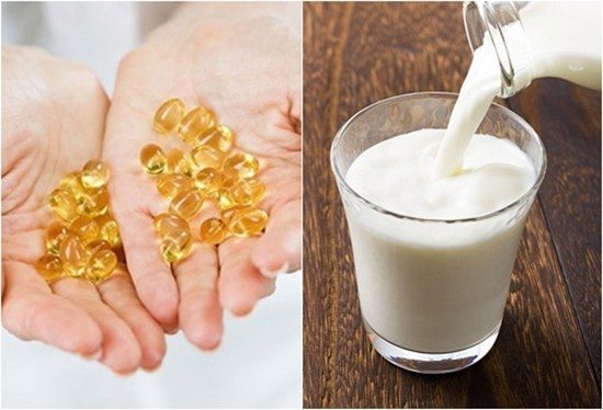 Sữa tươi và vitamin E