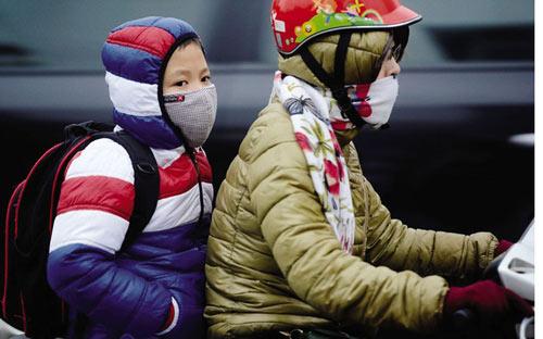 Giữ ấm khi đi ra ngoài đường
