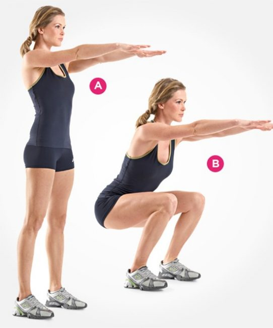 Bài tập squat