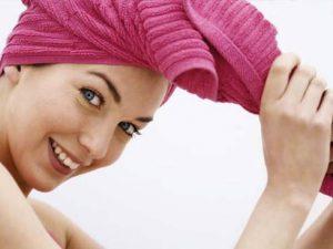 Chăm sóc tóc đúng cách sau khi gội đầu