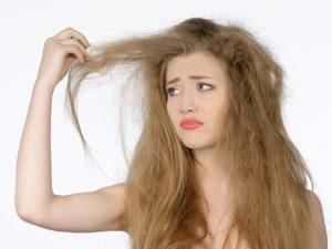 Chăm sóc tóc khô xơ vì hóa chất