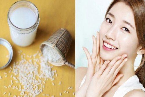 Nước vo gạo làm trắng da hiệu quả