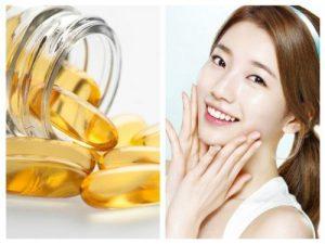 Vitamin E dưỡng da mặt hiệu quả tại nhà